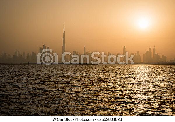 Dubai Skyline - csp52804826