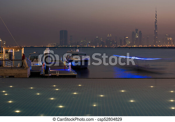 Dubai Skyline - csp52804829