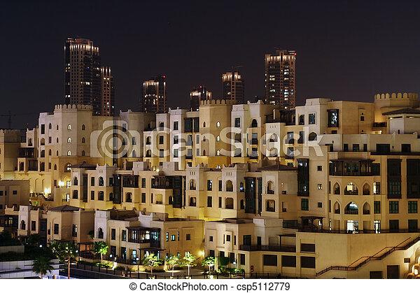 Dubai skyline - csp5112779