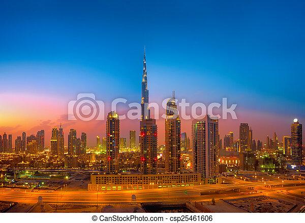Dubai Skyline - csp25461606