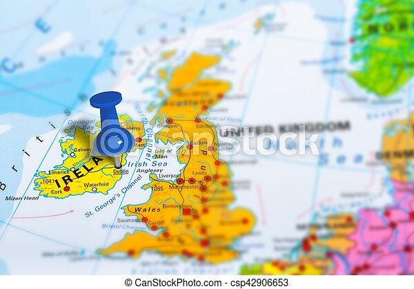 Dublin On Map Of Ireland.Dublin Ireland Map