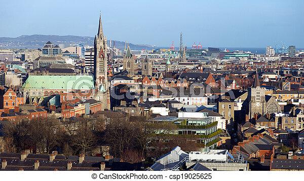 Dublin Ireland - csp19025625