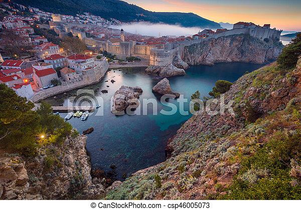 Dubrovnik, Croatia - csp46005073