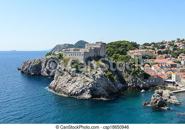 Dubrovnik Croatia - csp18650946