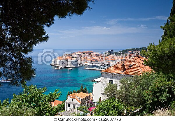 Dubrovnik Old Town - csp2607776