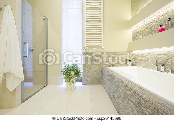 Ducha ba era ducha cuarto de ba o ba era espacioso lujo - Banera ninos para ducha ...