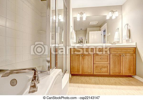 Ducha, interior, cuarto de baño, tina, baño. Ducha, cuarto de baño ...