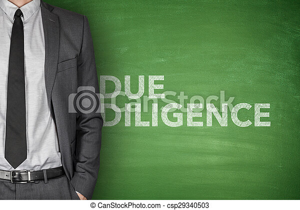 Due diligence on blackboard - csp29340503