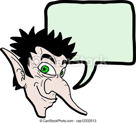 duende, conversa - csp12332513