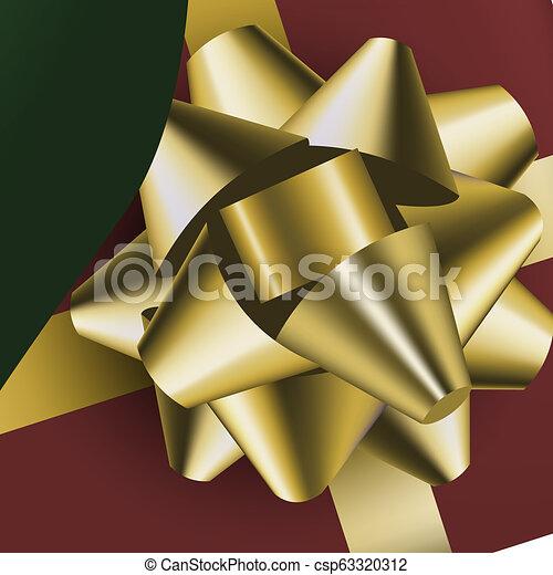 Piernas de elfo de Navidad. Regalos de Navidad en las manos - csp63320312