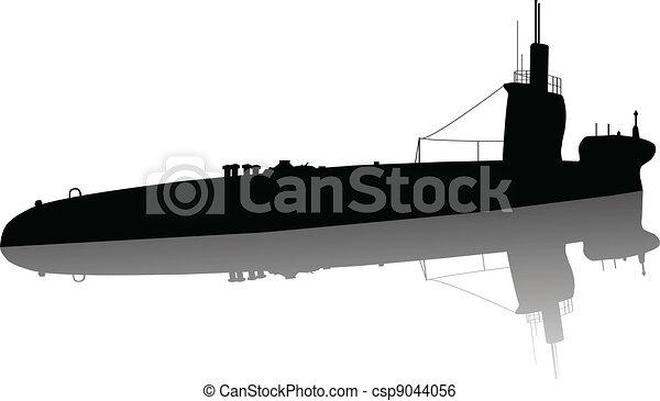 duikboot - csp9044056