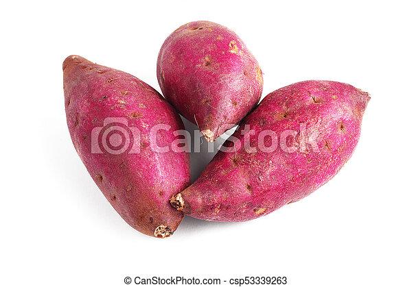 Patatas dulces japonesas - csp53339263