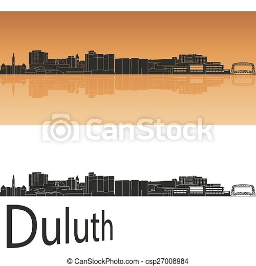 Duluth skyline - csp27008984