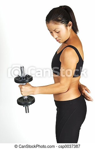 Dumbbell Curl - csp0037387