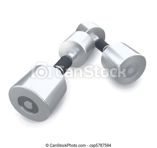 Dumbbells Vector - csp5787594