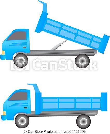 Dump truck - csp24421995