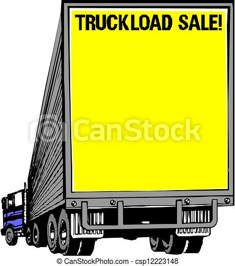 Dump truck - csp12223148