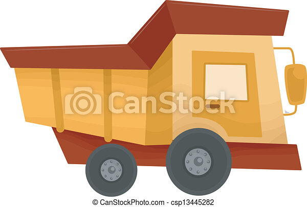 Dump Truck - csp13445282