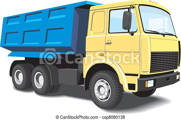 Dump truck - csp8080138
