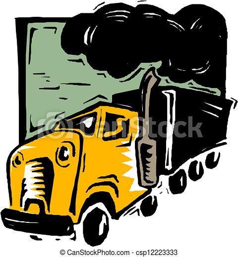 Dump truck - csp12223333
