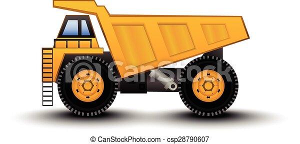 Dump Truck - csp28790607