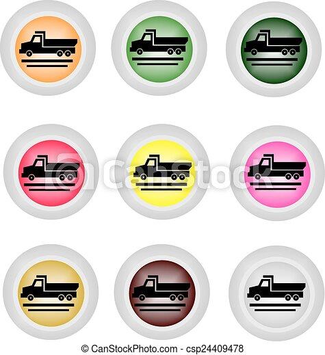 Dumper icon - csp24409478