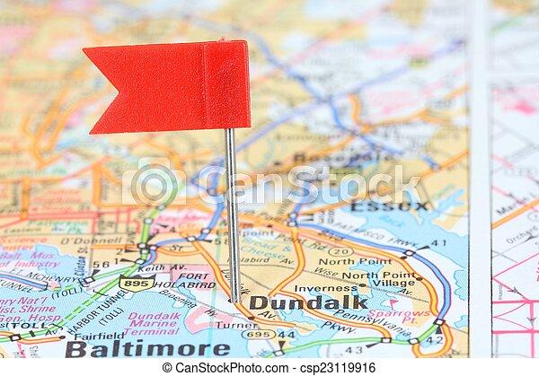 Dundalk, Maryland - csp23119916