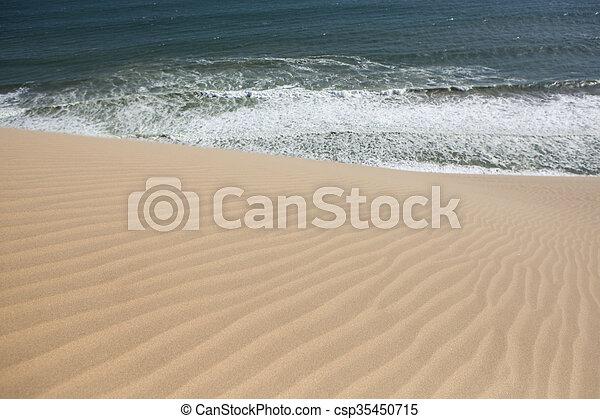 Dune Sea abstract - csp35450715