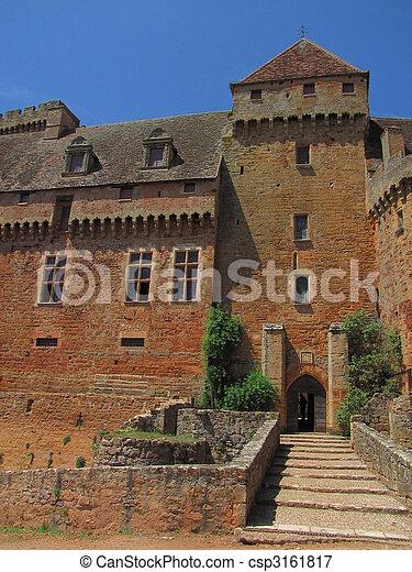 Dungeon, Castelnau Castle - csp3161817
