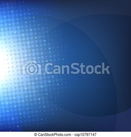 Dunkelblauer Hintergrund mit verschwommenem - csp10797147