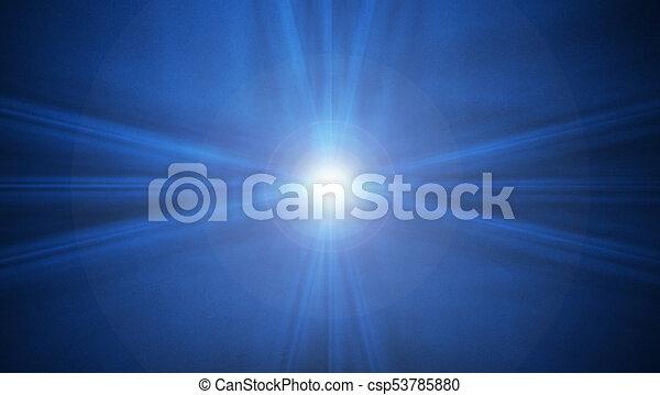Der dunkle Hintergrund mit Flash - csp53785880