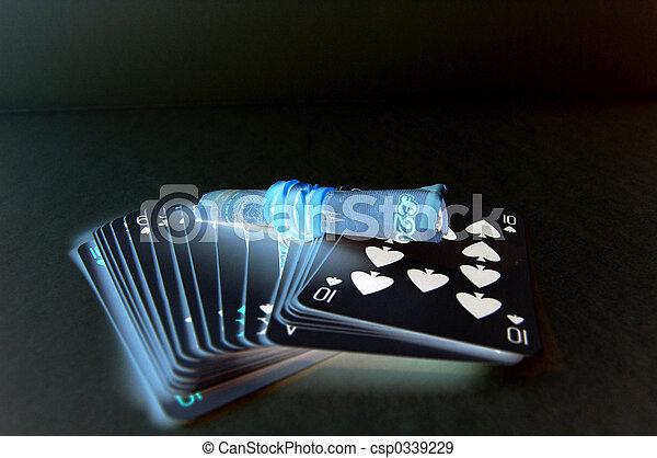 dunkel, gluecksspiel - csp0339229