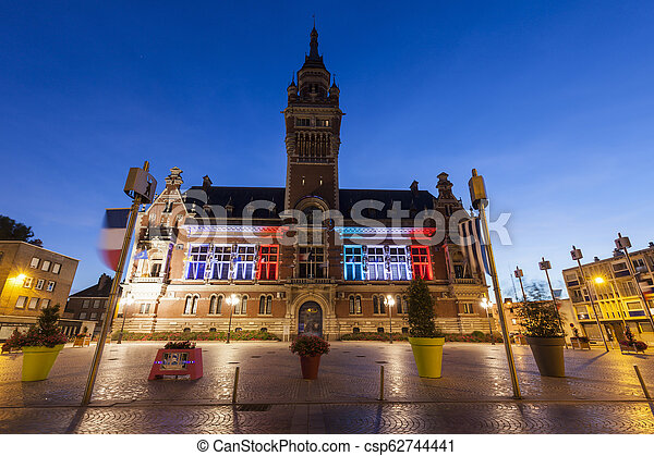 Dunkirk City Hall - csp62744441
