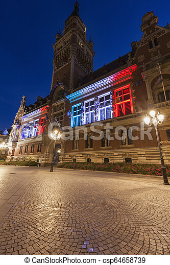 Dunkirk City Hall - csp64658739