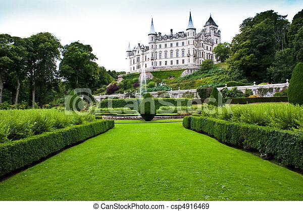 Dunrobin Castle - csp4916469