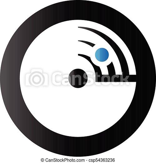 Duo Tone Icon Radar Radar Icon In Duo Tone Color Instrument