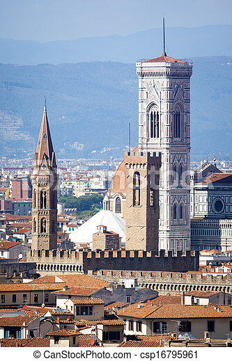 Duomo in Florence Italy - csp16795961