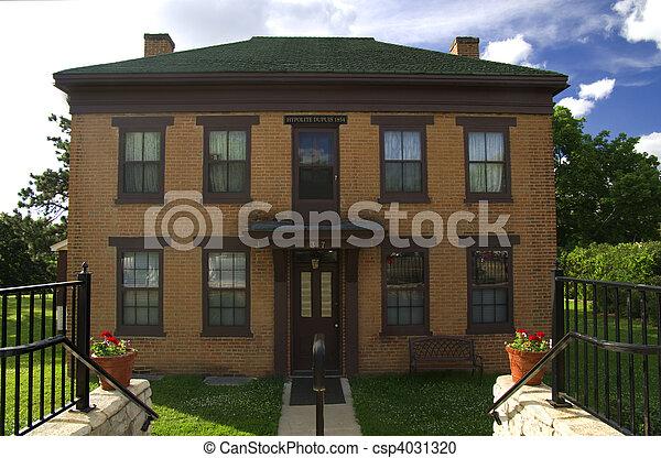 DuPuis House Front - csp4031320