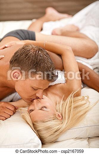 durante, coppia, rapporto sessuale, intimo - csp2167059