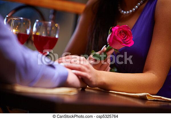 During Valentine?s day     - csp5325764