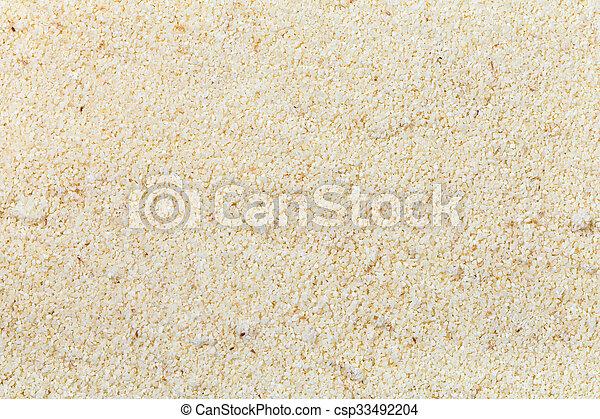 durum wheat semolina flour - csp33492204