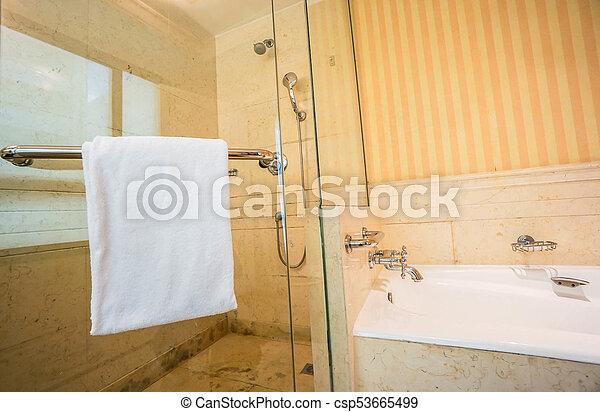 Dusche, badezimmer, badewanne, zimmer Stockfotos - Suche Foto ...