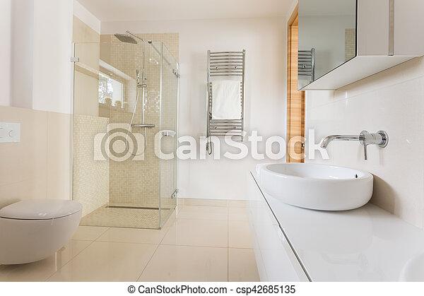 Dusche glas badezimmer modern toilette fliesenmuster - Fliesenmuster dusche ...