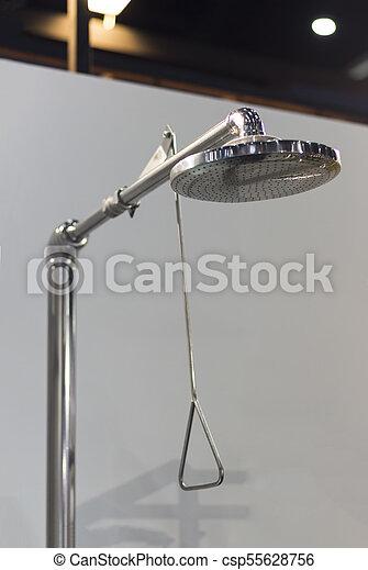 dusche, sicherheit, notfall - csp55628756