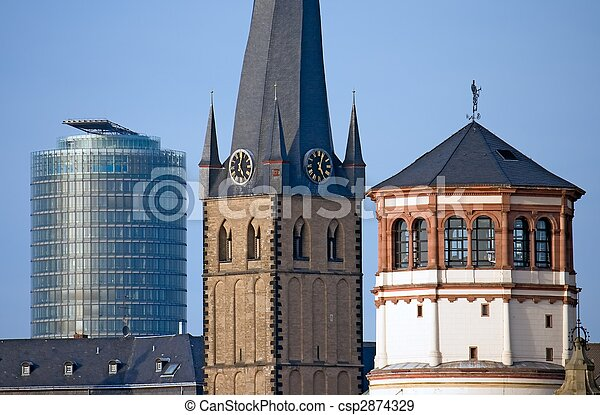Dusseldorf's Landmarks - csp2874329