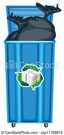 dustbin - csp11768874