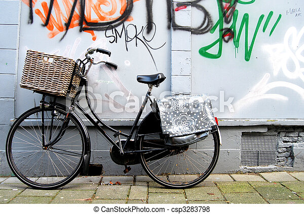Dutch bicycle - csp3283798