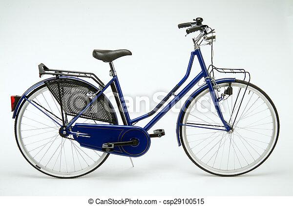 Dutch blue bicycle - csp29100515