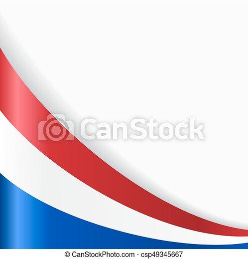 dutch flag background vector illustration dutch flag wavy abstract