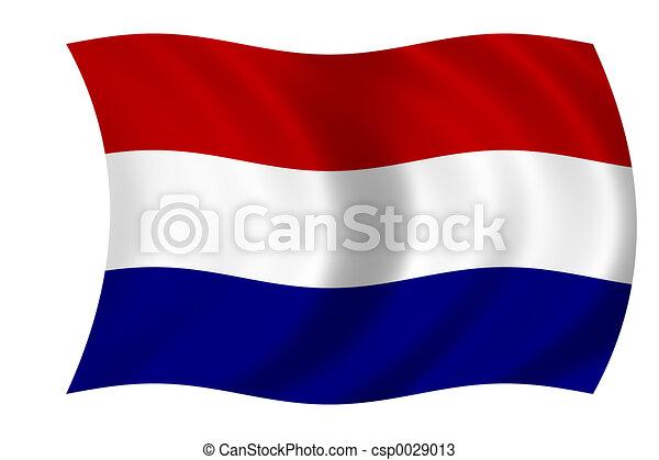 Dutch flag - csp0029013